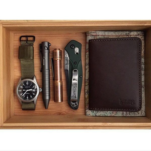 Benchmade - #hamilton #hamiltonkhaki #watchesofinstagram #instawatch #boker #bokerpen #foursevens #preon #copper #benchmade940 #940osborne #benchmadeknives...