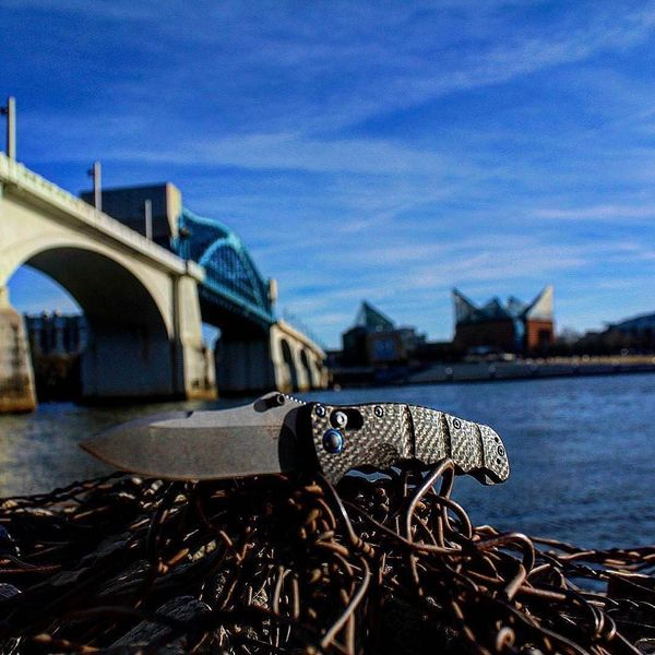 Benchmade - #Repost pdo_762 ・・・ Nakamura out in #chatt #benchmadeknives #mybenchmade #nakamura #benchmade #s90v #carbonfiber #titanium #nooga #tennessee #canon #rebelt5...