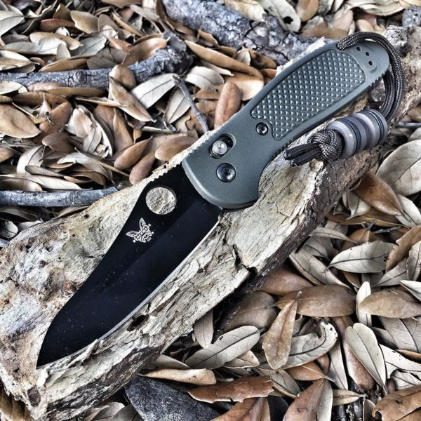 Benchmade - Got the grip with me today #mybenchmade #benchmade #griptilian #kappastabba #grumpysedc #tankbead #knifecommunity #edcofmiami #edc #everydaycarry