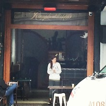 COFFEEUFEEL - Bad photo but choice cafe on k rd where I had my last fag with a #havanacoffee all the best #rumplestiltskins thanks for putting up with me!