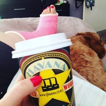 COFFEEUFEEL - #Cavoodle #coffee, #cast & watching #OutrageousFortune from the start - that's the exciting life I'm leading this weekend #GoingCrazy #havanacoffee