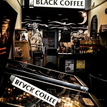 COFFEEUFEEL - 3 years ago the frikn rad John Dimmery started a little coffee shop in Newtown called Black Coffee! Continuing his and my love for art and music Black Coffee...